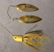 Pro Assassinator Clacker 3/4 oz Spinnerbait DT-DWGG Gold Sun Fish