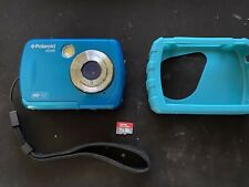 Polaroid IS048 16mp Waterproof Digital Action Camera w/ 16GB Memory Card