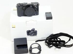 Nikon 1 V3 18.4 MP Mirrorless Black Body ONLY 7K SHUTTER COUNT