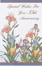 Anniversary Card with Envelope 35th