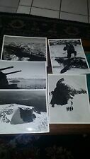 Vintage US NAVY press Photos  ANTARTICA Lot of 7 photos 1950-1960 Nice