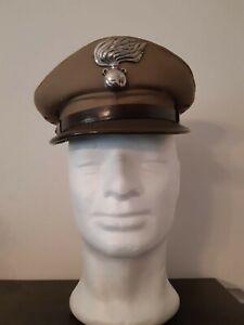 Carabinier Berretto tela kaki anni 60 Uniforme CC
