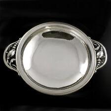 Georg Jensen Round Silver Bowl #2B - Blossom/ Magnolia - VINTAGE