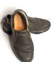Merrell Mens Moab Rover Moc Slip-On Shoes Kangaroo Brown Leather Vibram Size 9 M