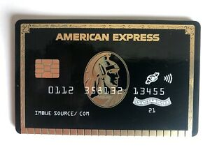 Imbue - PCB Credit Card Black - Signed & Numbered - New unopened with COA