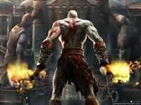 POSTER GOD OF WAR KRATOS 2 PLAYSTATION 3 PLASTIFICATO 5