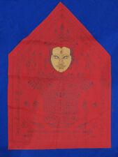 0272-THAI AMULET KHUN PAEN MAGIC YANT CLOTH KRUBA SUBIN