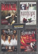 Manje/Bleeding Rose/Asylum Night/The Sorority Boneyard Collection NEW DVD