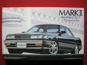 1991 Toyota Mark II Hardtop 2.5GT Twin Turbo 1/24 Fujimi Japan Kit Rare 2