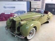 1:24 Franklin Mint Miami Sand 1940 Packard 180 Custom 8 by Darrin Convertible