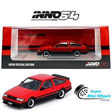 INNO64 TOYOTA COROLLA AE86 Levin 1985 Red (Japan Special)