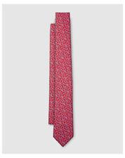 Cravates rouges pour homme en 100% soie
