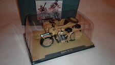 1:24 1939-1945 BMW R75 Motorcycle with Sidecar Combination 1/24 scale By ALTAS