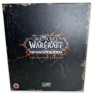 World of Warcraft Cataclysm Collectors Edition No Keys - Some Contents Sealed
