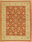 """Momeni Heirlooms Chobi Hand Knotted Wool Red Area Rug 8'11"""" X 11'10"""""""