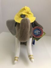 RINGLING Bros BARNUM and BAILEY 143th Edition Circus GREY ELEPHANT Plush Tags