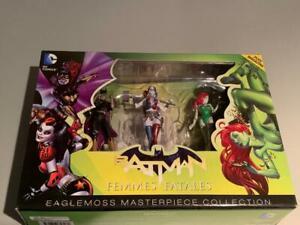 Eaglemoss DC Comics Batman Femmes Fatales Figure Box Set NEW Batgirl Harley Ivy