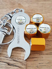 CHRYSLER Polvere d'oro della valvola caps CHIAVE limitata tutti i modelli Retail Pack 300 Pinta
