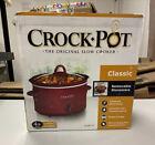 Crock-Pot 4-qt Slow Cooker - Red - Model SCV401-TR photo
