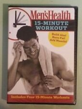 mens  MEN'S HEALTH 15 MINUTE WORKOUT   DVD NEW