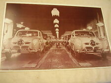 1950  STUDEBAKER  ON ASSEBLY LINE  11 X 17  PHOTO /  PICTURE