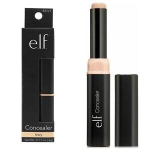 ELF Creamy Lightweight Natural Full Coverage Concealer (Ivory) 0.11 oz. New