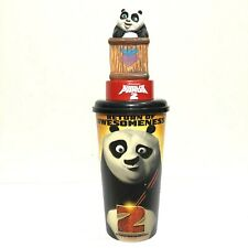 Kung Fu Panda 2 Movie Figurine Baby Panda Po Cup Topper Cinemas Theatres Model