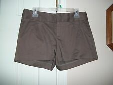 BANANA REPUBLIC MARTIN FIT LADIES SIZE 6 BROWN DRESS SHORTS PLEATS NEW WITH TAGS