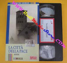 film VHS cartonata ASSISI LA CITTA' DELLA PACE FAMIGLIA CRISTIANA (F36) no dvd
