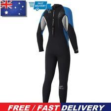 New listing Men One Piece Diving Wetsuit Scuba Snorkeling Long Sleeve Surfing Wet Suits