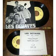 LES OCTAVES - H.L.M Rare French EP Folk Pop Sixties Private