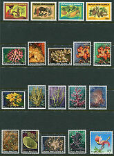 1982 Papua New Guinea.  Full set of stamps of the year MUH.  CV £25.70.