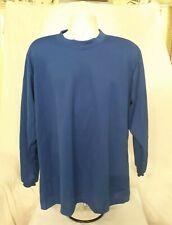 Dodger Brand Made In USA Baseball Undershirt Warm-up Blue Color
