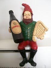 More details for nice guinness advertising leprechaun bar shelf sitter bottle harp vintage design
