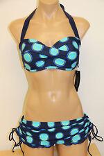 NWT Tommy Hilfiger Swimsuit Bikini 2pc set Sz 10 4 Navy Skirt