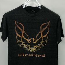 Firebird Wings Trans Am Logo Gray Graphic T-Shirt Licensed Pontiac Sz S
