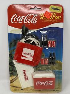 Coca-Cola Summer Fun Accessories Scaled For Play With All 11.5 And 12inch Dolls