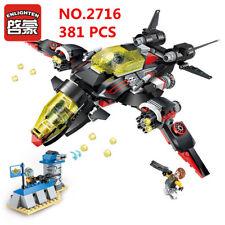 381 Pcs Kids Building Toys Blocks DIY Puzzle Bomber Model ENLIGHTEN 2716