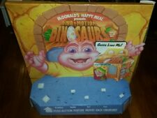 Dinosaurs TV Show Vintage 1993 McDonalds Happy Meal Toy RESTAURANT STORE DISPLAY