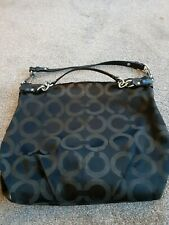 Coach Signature Sateen Brooke Hobo Bag Style - Hand Bag
