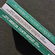 Lot of 3 WALLACE HOMESTEAD Antique Price Guide American COUNTRY ANTIQUES 9~12~13