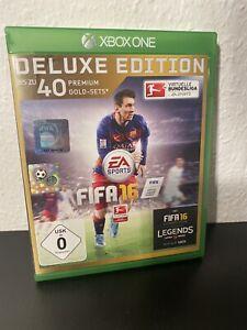 Fifa 16 Microsoft Xbox One Spiel Deluxe Edition] Top Zustand I BLITZVERSAND