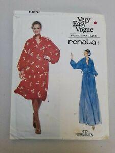 Vintage VOGUE Pattern Very Easy Vogue French Boutique Renata Paris Late 1970's