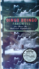 OINGO BOINGO - FAREWELL / LIVE FROM UNIVERSAL - (2) VHS TAPE SET - STILL SEALED