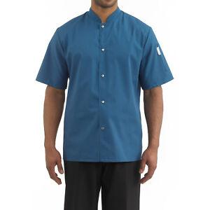 CHEFWEAR Barwear Shirt 1310 color Caribbean Blue