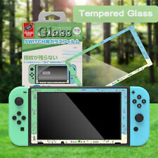 For Nintendo Switch Animal Crossing Theme Tempered Glass Screen Protector Film
