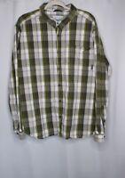 Columbia Mens Long Sleeve Plaid Button Down Shirt Size XXL