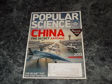 Popular Science Magazine January 2013 China Secret Arsenal