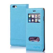 Handy Tasche Schutz hülle Wallet Case Flip Cover Etui für Samsung Galaxy S8 blau