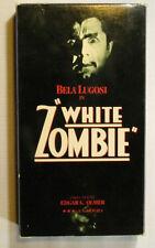 White Zombie starring Bela Lugosi 1932 Classic B&W Horror Movie Vintage VHS 1986